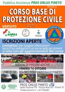 CORSO PROTEZIONE CIVILE PINETO